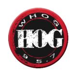 WHOG-FM 95.7 The Hog