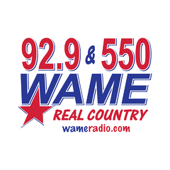 WAME Real Country 92.9 FM & 550 AM