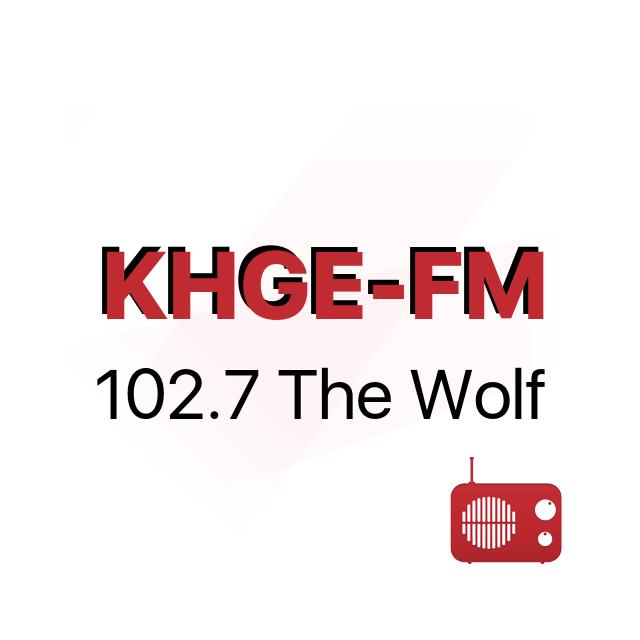 KHGE-FM 102.7 The Wolf