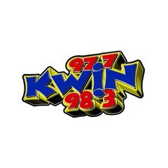 KWIN 97.7 and 98.3 FM