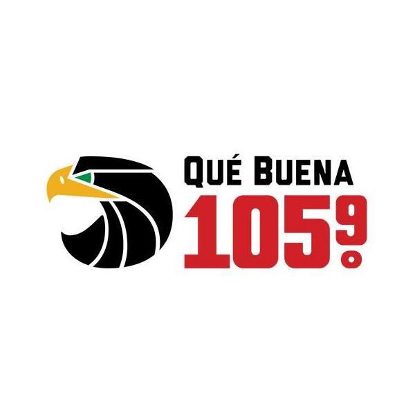 KHOT-FM / KKMR / KOMR Qué Buena 105.9 / 106.5 / 106.3 FM (US Only)
