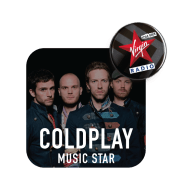 Virgin Radio Music Star Coldplay