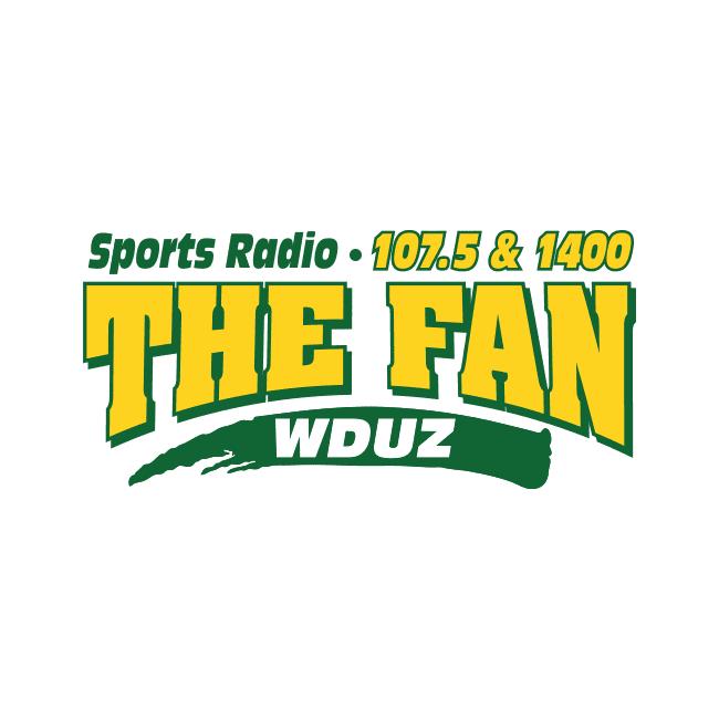 WDUZ The Fan 107.5 FM and 1400 AM