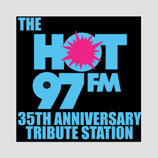 HOT 97 35th Anniversary Tribute Station