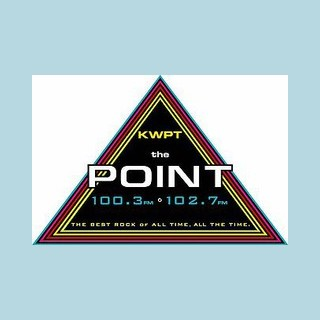KWPT The Point 100.3 and 102.7 FM