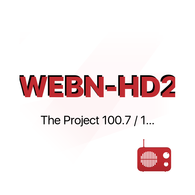 WEBN-HD2 The Project 100.7 / 106.3