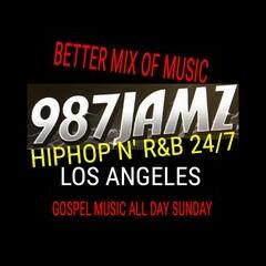 987JAMZ  24/7 HipHop N' R&B