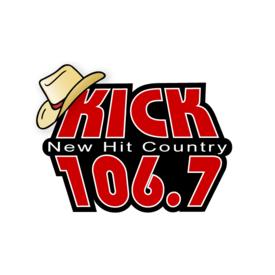 """KIKD-FM """"Kick 106.7"""" Kick 106.7"""