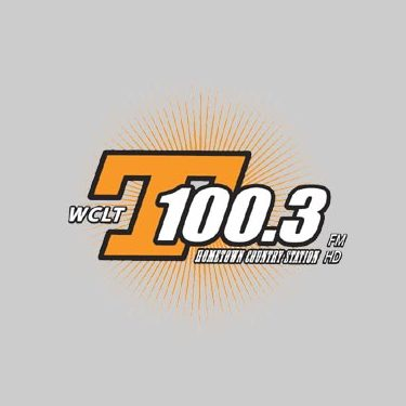 WCLT T 100.3 FM