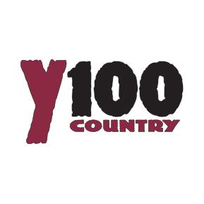 WNCY Y100 country FM